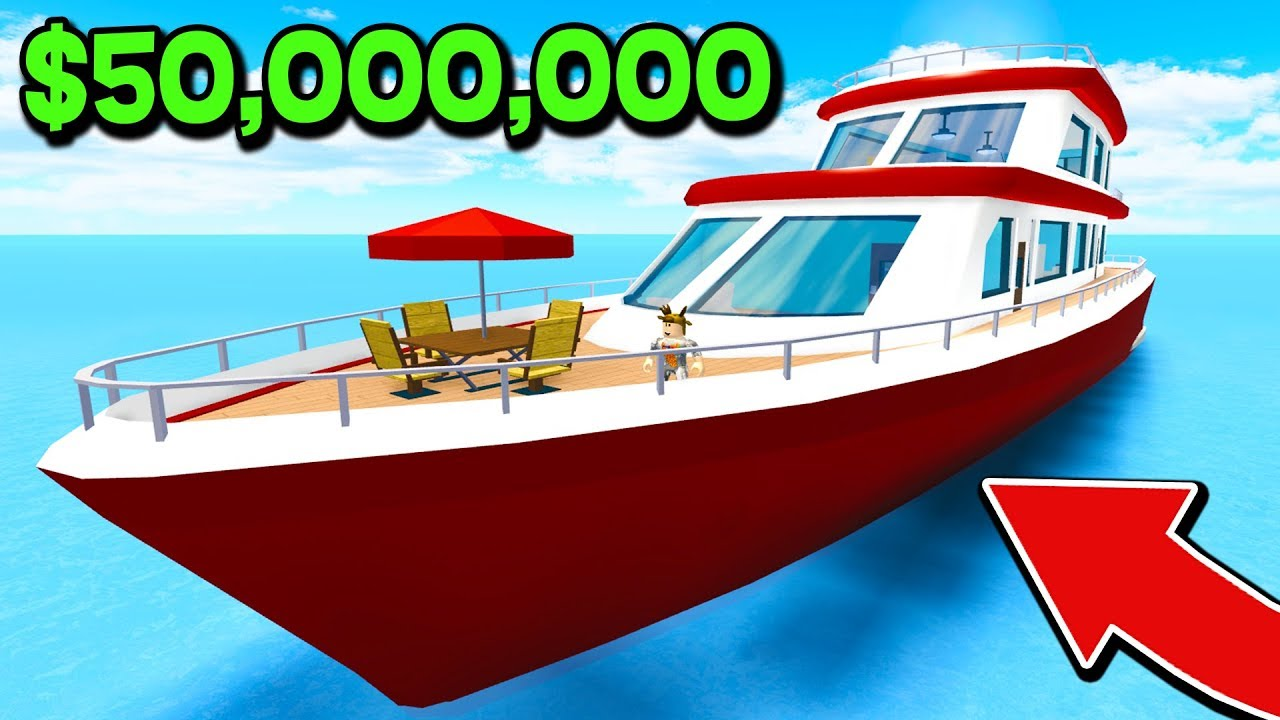 Download BUYING A $50,000,000 YACHT AT 18 YEARS OLD IN ROBLOX! (Roblox High School Roleplay)