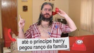 Plantão do Chico: Até o príncipe Harry pegou ranço da família!