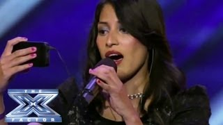 Download Yosselin Marquez - Contestant Reads Lyrics from her Phone - THE X FACTOR USA 2013