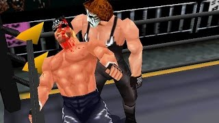 N64 WCW / nWo Revenge - Sting vs Hollywood Hogan