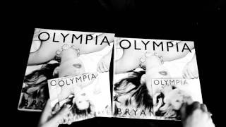 Inside the Bryan Ferry OLYMPIA Book (B/W)