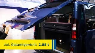 Westfalia Michelangelo: Nissan NV 300 Campervan