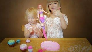 Барби Русалка и Мыльные Пузыри Девчонки устраивают веселое Мыльное ШОУ