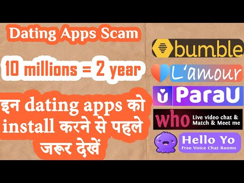 Most Popular Dating Apps 2020|Bumble vs Hello Yo vs Parau Vs Lamour Vs WHO |Install at your own risk from YouTube · Duration:  6 minutes 38 seconds
