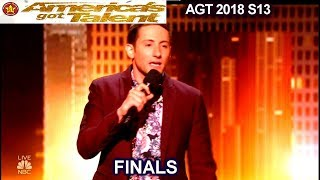 Samuel J Comroe Stand Up Comedian LAUGH OUT LOUD FUNNY | America's Got Talent 2018 Finale AGT