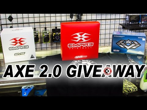 Empire Axe 2.0, EVS & LVL Loader GIVEAWAY | Lone Wolf Paintball Michigan