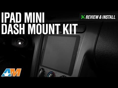 2005-2009 Mustang IPad Mini Dash Mount Kit Review & Install