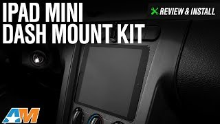 2005-2009 Mustang iPad Mini Dash Mount Kit Review & Install