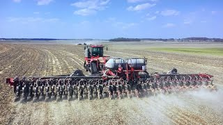 1st Week of Planting with Two CNH 2100 Planters Covering 3,700 Acres Season 2 Episode 2