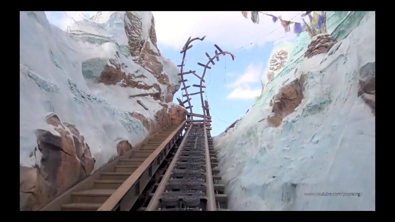 Expedition Everest Front Row Pov With Night Vision Disney S Animal Kingdom Walt Disney