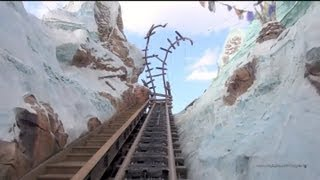 Expedition Everest Front Row POV with Night Vision Disney's Animal Kingdom Walt Disney World