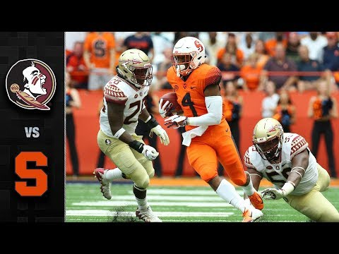 Florida State vs. Syracuse Football Highlights (2018)