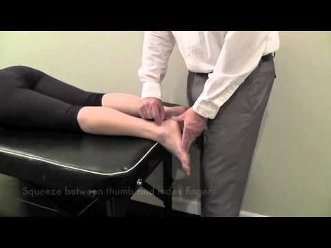 achilles tendon palpation test cr youtube. Black Bedroom Furniture Sets. Home Design Ideas
