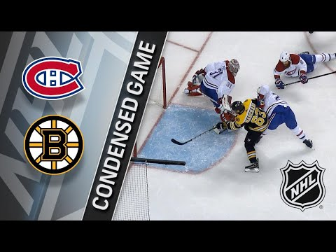 01/17/18 Condensed Game: Canadiens @ Bruins
