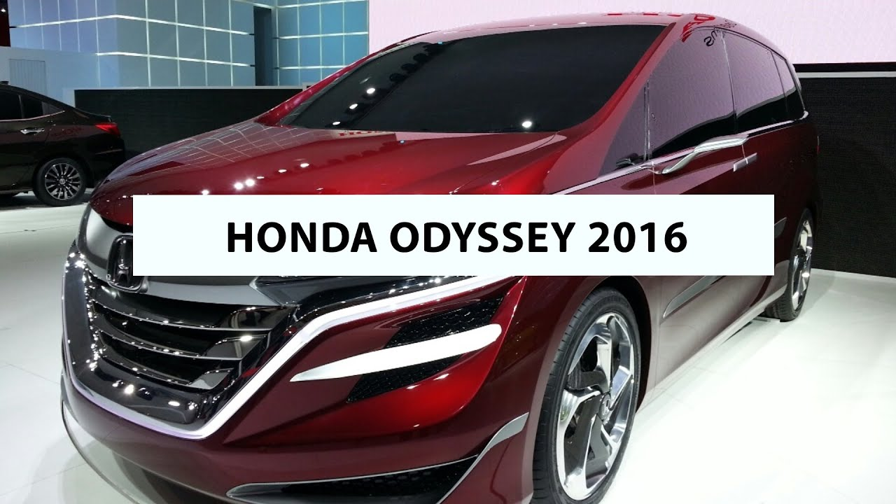 2016 honda odyssey short review presentation basic info. Black Bedroom Furniture Sets. Home Design Ideas
