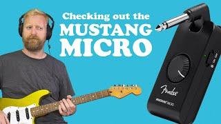 Fender Mustang Micro - Full run-through + Q&A from Instagram