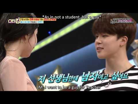 [ENG] 160426 SK BTS - Jimin's Acting