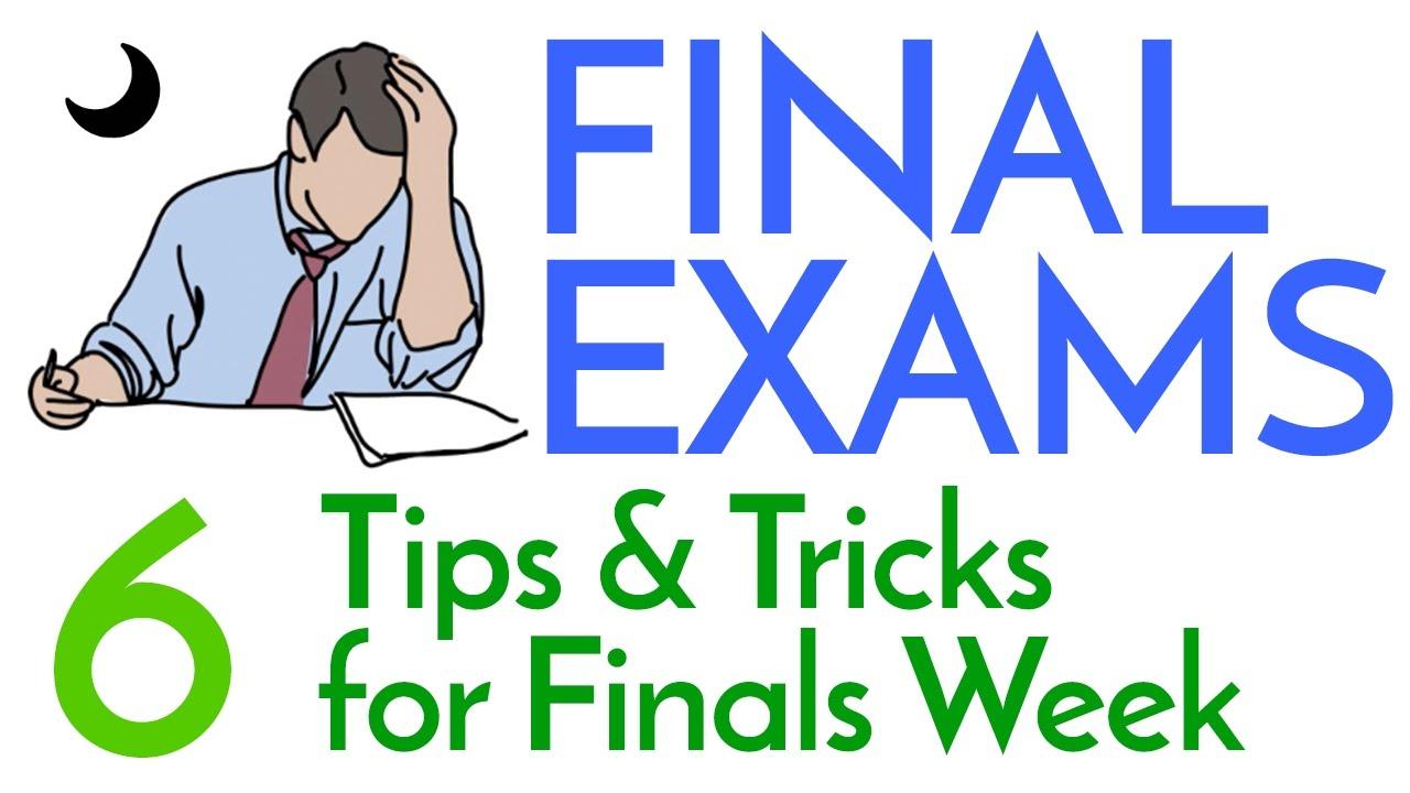 Finals Week  6 Study Tips  Tricks  YouTube