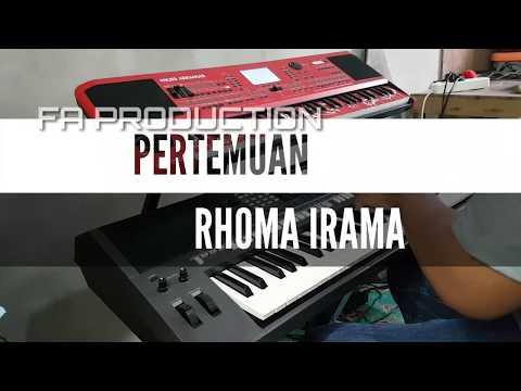 PERTEMUAN - KARAOKE RHOMA IRAMA ( DUET )