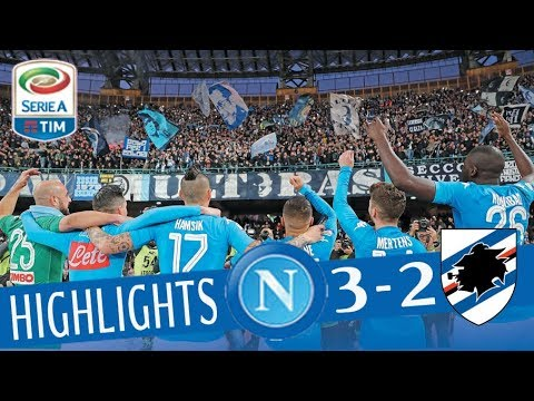 Napoli - Sampdoria 3-2 - Highlights - Giornata 18 - Serie A TIM 2017/18