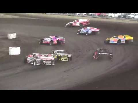 IMCA Sport Mod feature Benton County Speedway 4/22/18
