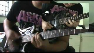 escape the fate situations guitar cover w solo