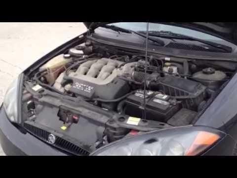 2002 mercury cougar engine diagram 1999 ford f150 belt 2001 easypainting co 2 5l v6 efi door coupe lot 120 rh youtube com swap check light flashing
