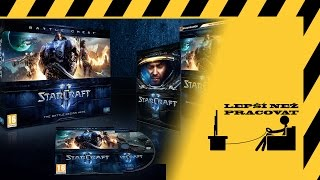Český unboxing - Starcraft II Battlechest