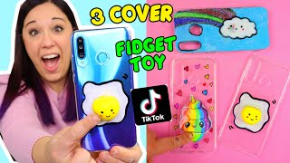 Faccio 3 COVER ANTISTRESS STRANE e FACILI VISTE su TIKTOK! (FIDGET TOY COVER)