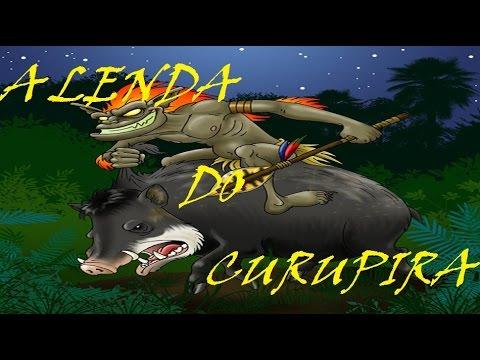 A lenda do Curupira -- Lendas e Mitos do Folclore Brasileiro e a Historia  O Curupira e o Caçador