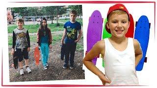 ВЛОГ: КТО КРУЧЕ Катание на Пенни Борде Penny board + Велосипед + Самокат УФА VLOG