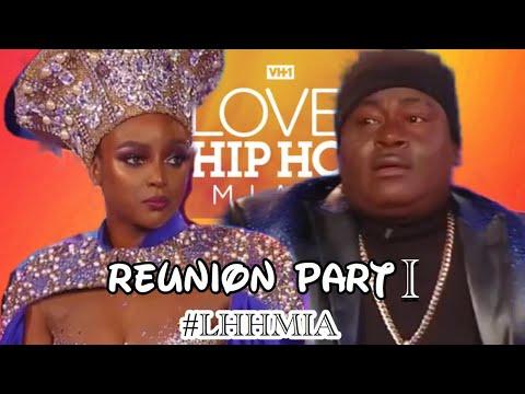 Love & Hip Hop MIAMI Season 2, REUNION PART 1 (Review Only)