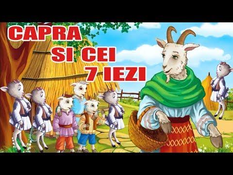 CAPRA SI CEI 7 IEZI - POVESTI PENTRU COPII - BASME in LIMBA ROMANA