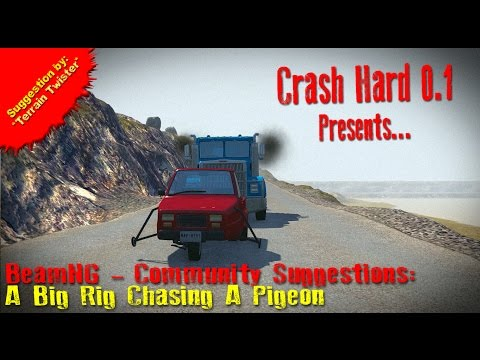 BeamNG - Community Suggestions: Big Rig Chasing A Pigeon - 동영상