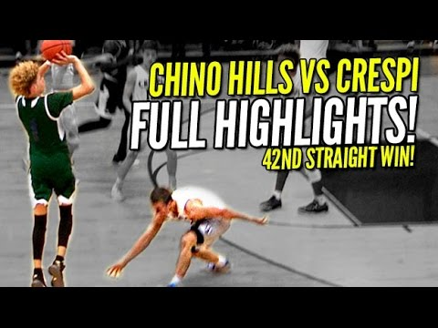 LaMelo Ball Hits Half-Court Shots Like Layups!! Chino Hills vs Crespi FULL Highlights!