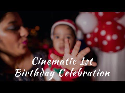 Aayansh Cake Smash   1st Birthday Celebration   Cinematic Videography