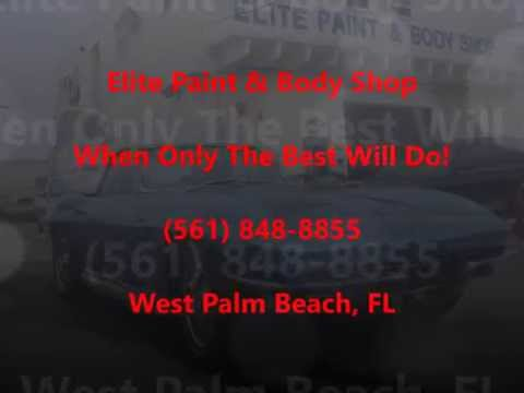 Palm Beach Gardens Maserati Auto Body Repair - Elite Paint & Body Shop