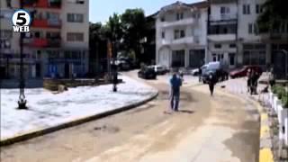 Над 30 поплавени куќи - невреме во Радовиш и околината