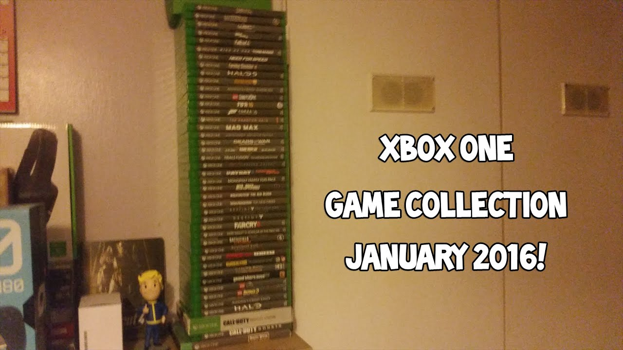 Xbox One Game Collection - January 2016 - YouTube