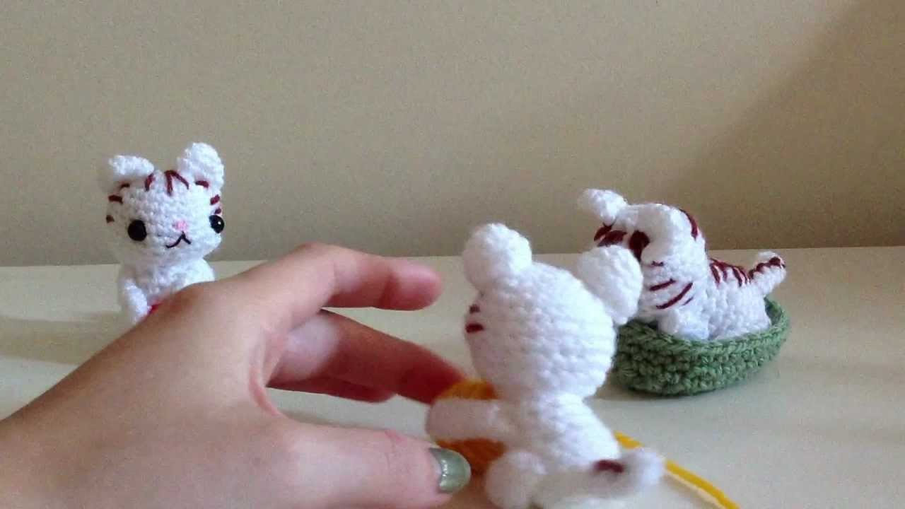Amigurumi Kitten Patterns : Crochet kittens youtube