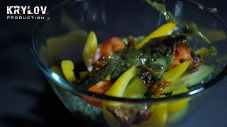 "Салат ""Песто"" - Видео блюд [KRYLOV PRODUCTION]"