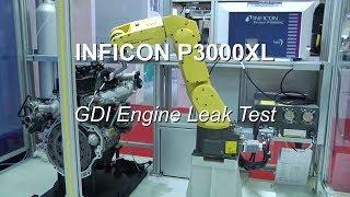 Protec P3000XL Helium Leak Detector   GDI Engine Leak Test