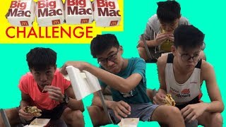 BIG MAC CHALLENGE !!! (EPIC)