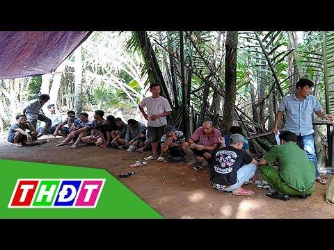 Công An Nổ Súng Triệt Phá Tụ điểm đá Gà ở Tiền Giang | THDT