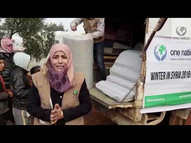 Winter In Syria,Mattresses Distribution In Northern Syria ~January 2019~