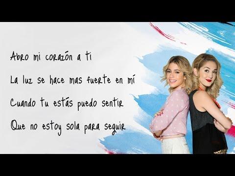 Violetta 3 - Más que dos (Martina Stoessel & Mercedes Lambre) Letra