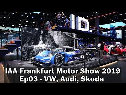 IAA 2019 Ep 3 - Seat El-born, VW e-up, Audi, Skoda Citygo e