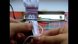 видеоурок по плетению полотенчика
