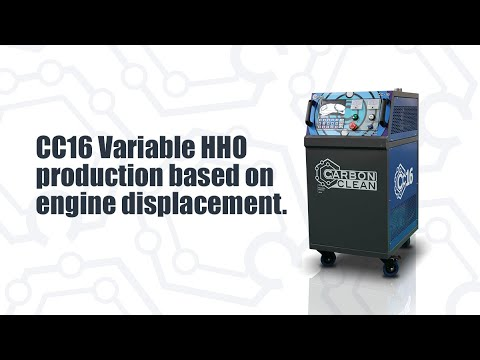 CC16 Variable HHO production based on engine displacement.