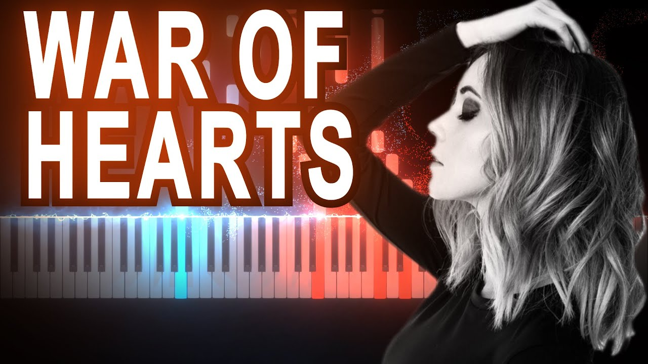 RUELLE - War Of Hearts #Malec | Synthesia Piano Tutorial